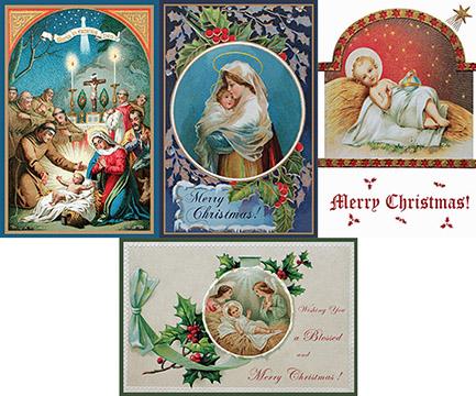 christmas card variety set set of 12 cardsenvelopes 1200 per set