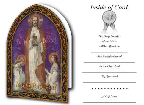 How to write catholic mass intentions